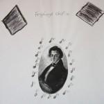 Prace inspirowane muzyką Chopina - Klasa B
