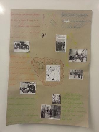 Plakaty Na Temat Ii Wojny światowej Wykonane Przez Klasę C